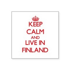 Keep Calm and live in Finland Sticker