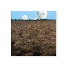 "Goonhilly Earth Station Square Sticker 3"" x 3"""