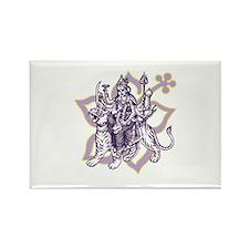 Durga Rectangle Magnet