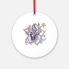 Durga Ornament (Round)