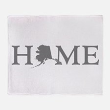 Alaska Home Throw Blanket