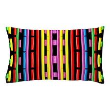 Colorful Noodles Pillow Case