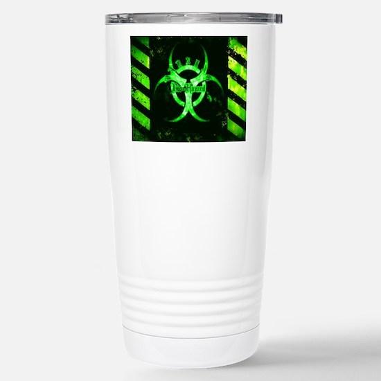 Green Bio-hazard Travel Mug