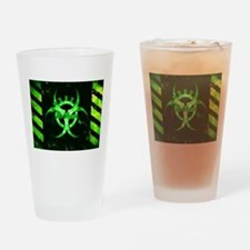 Green Bio-hazard Drinking Glass