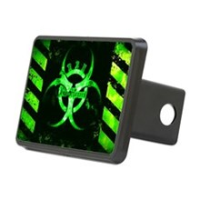 Green Bio-hazard Hitch Cover