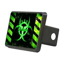 Green Bio-hazard Hitch Cover