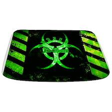 Green Bio-hazard Bathmat