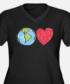 Earth Love Plus Size T-Shirt