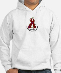 Multiple Myeloma Flower Ribbon 1 Hoodie