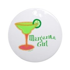 Margarita Girl Ornament (Round)