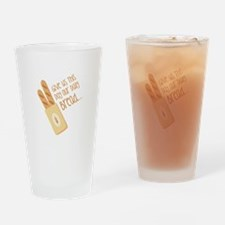 Give Us This Day Our Daily Bread Drinking Glass