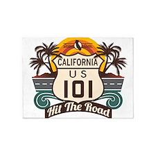 California 101 5'x7'Area Rug