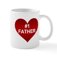 #1 FATHER Mug