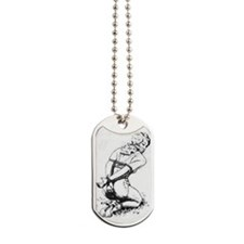 All Tied Up Dog Tags