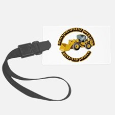 Hvy Equipment Operator - Front E Luggage Tag