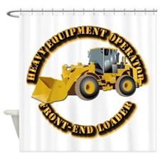 Hvy Equipment Operator - Front End Shower Curtain