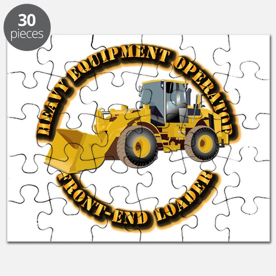 Hvy Equipment Operator - Front End Loader Puzzle