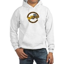 Hvy Equipment Operator - Front E Hoodie