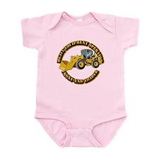 Hvy Equipment Operator - Front End Infant Bodysuit