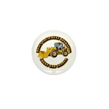 Hvy Equipment Operator - Fro Mini Button (10 pack)
