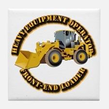 Hvy Equipment Operator - Front End Lo Tile Coaster