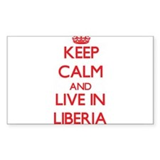 Keep Calm and live in Liberia Decal