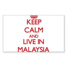Keep Calm and live in Malaysia Decal
