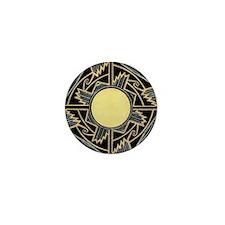 MIMBRES NEW MEXICO ZIA BOWL DESIGN Mini Button