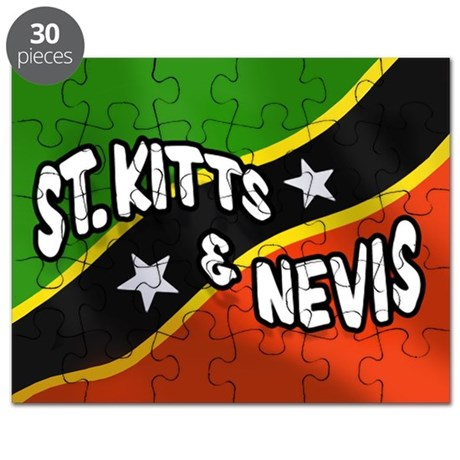 St. Kitts and Nevis Flag Puzzle