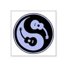 Yin-String Rectangle Sticker