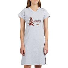 Multiple Myeloma Awareness 6 Women's Nightshirt