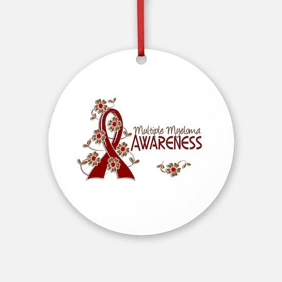 Multiple Myeloma Awareness 6 Ornament (Round)