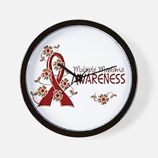 Multiple Myeloma Awareness 6 Wall Clock