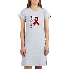 Multiple Myeloma Awareness 5 Women's Nightshirt