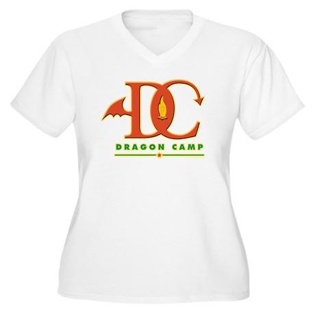 Dragon Camp Logo Plus Size T-Shirt