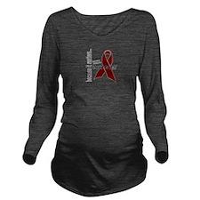 Multiple Myeloma Awa Long Sleeve Maternity T-Shirt