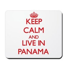 Keep Calm and live in Panama Mousepad