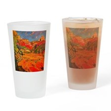 Joaquin Mir Red Valley Drinking Glass