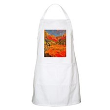 Joaquin Mir Red Valley Apron