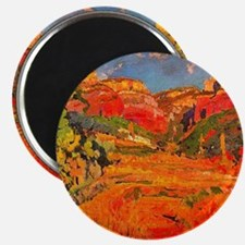 Joaquin Mir Red Valley Magnet