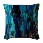 Joaquin Mir Abstract Woven Throw Pillow