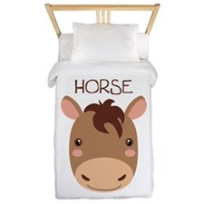 HORSE Twin Duvet