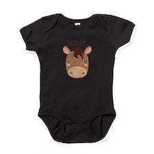 HORSE Baby Bodysuit