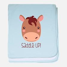 SaddLe Up! baby blanket