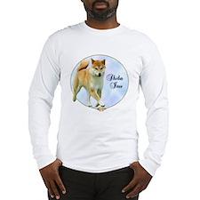 Shiba Portrait Long Sleeve T-Shirt