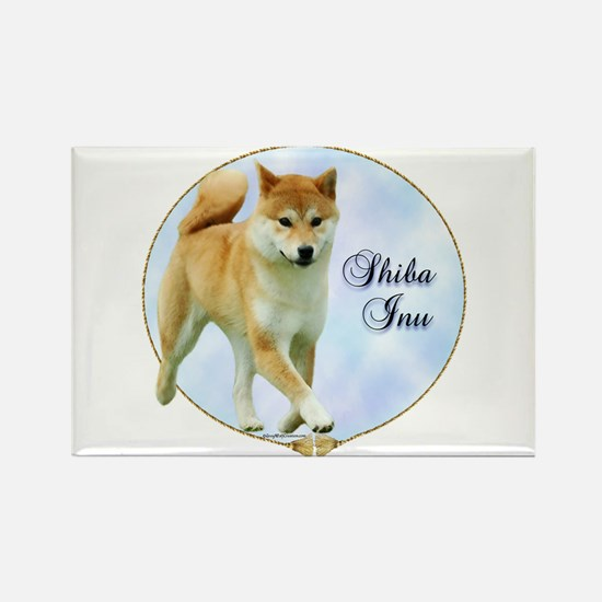 Shiba Portrait Rectangle Magnet