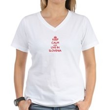 Keep Calm and live in Slovenia T-Shirt