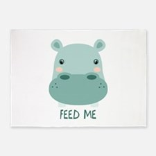 FEED ME 5'x7'Area Rug