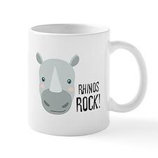 RHINOS ROCK! Mugs