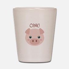 OINK! Shot Glass